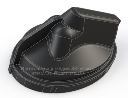 Крышка блок-фары AUDI. Модель