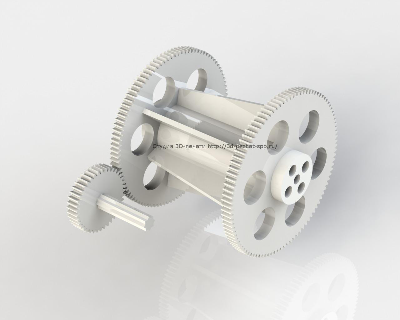3D печать шестеренок