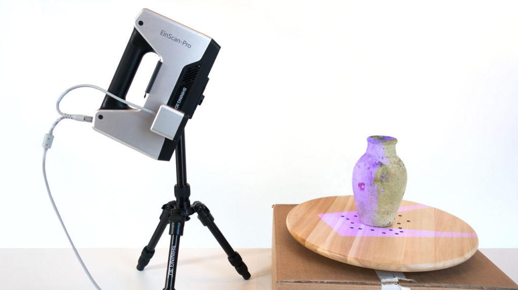 3D сканирование объекта