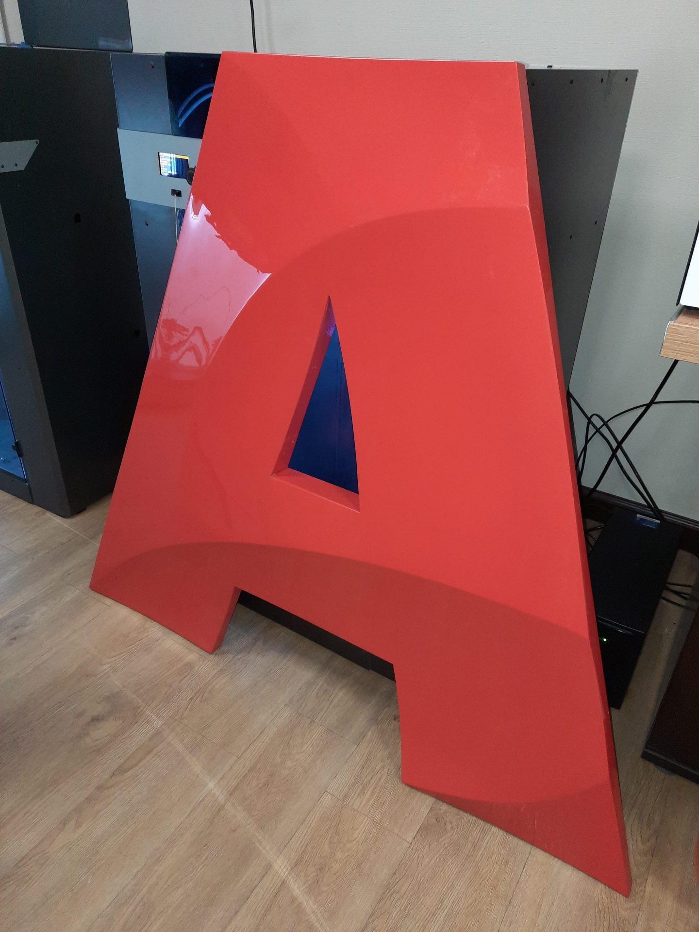 Изготовление логотипа на имиджволл