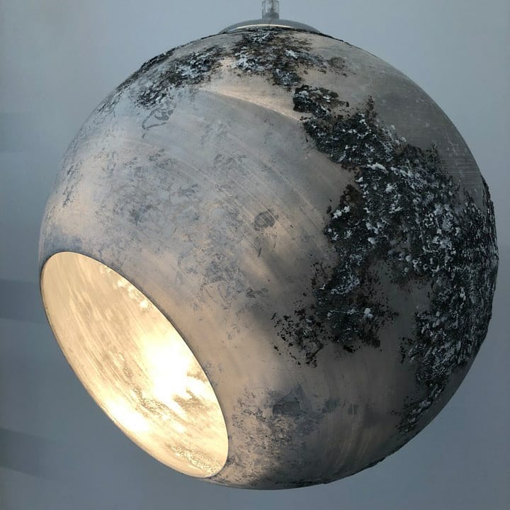 Изготовление светильника «Луна»